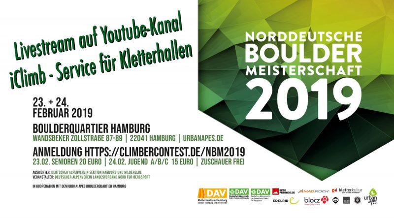 Livestream: Norddeutsche Bouldermeisterschaft