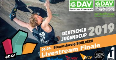 Livestream: 2. Deutscher Jugendcup Bouldern 2019 Finale