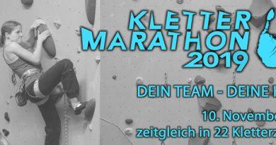 Klettermarathon 2019 mit Rekordbeteiligung